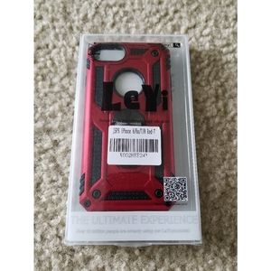 LeYi iPhone 6/6s/7/8 Red-7 Phone Case